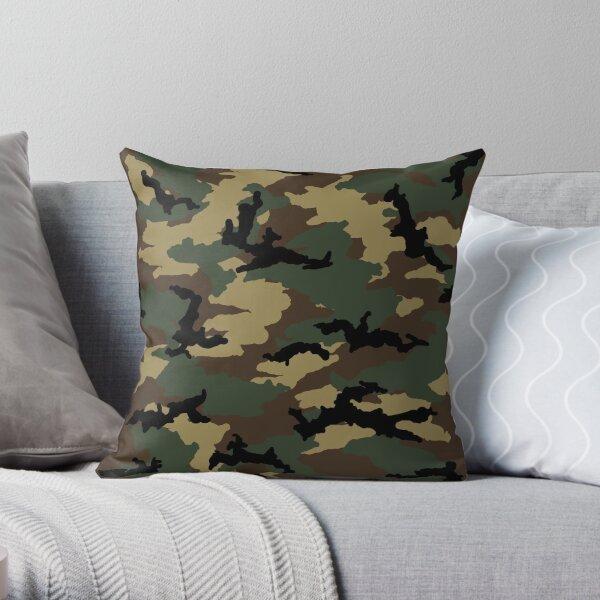 Original Woodland Camo Throw Pillow