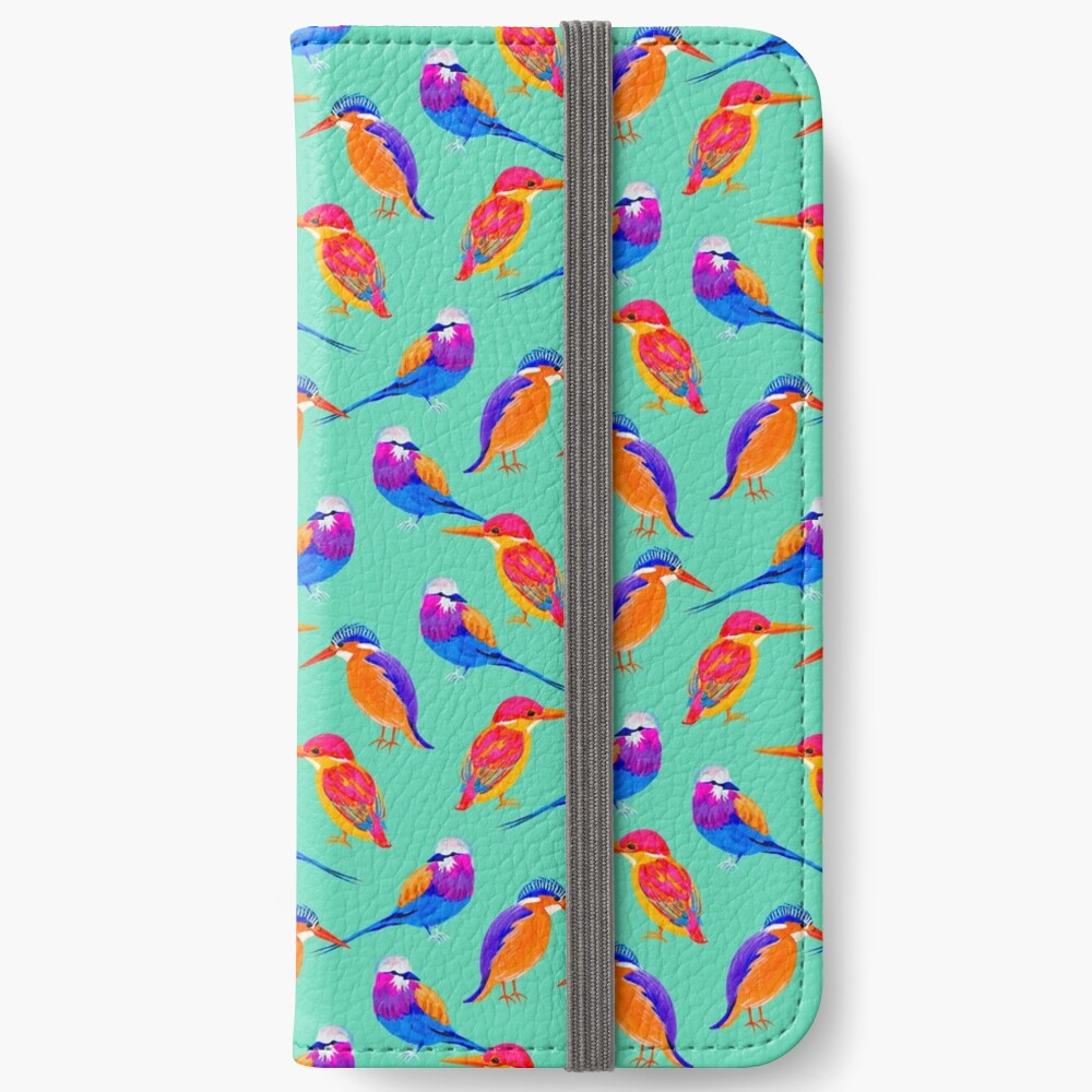 Colorful Birds iPhone Wallet