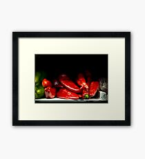 Spicy!!! Framed Print