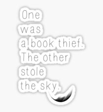 The Book Thief Quote Sticker