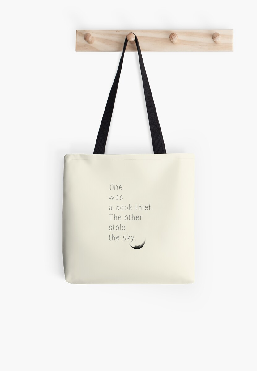 """The Book Thief Quotes The Book Thief Quote"""" Tote Bagsallannahstryder  Redbubble"""