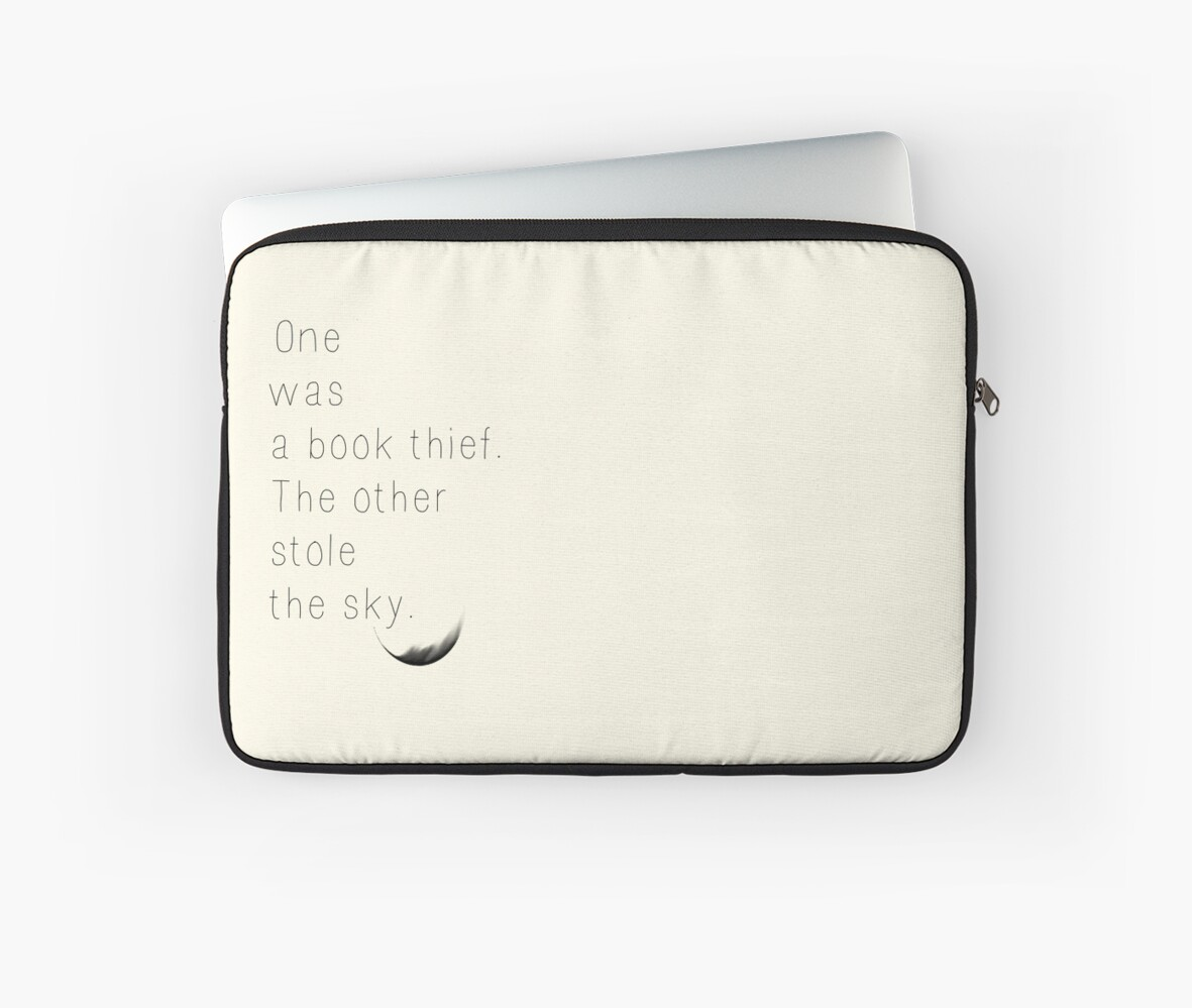 """The Book Thief Quotes The Book Thief Quote"""" Laptop Sleevesallannahstryder  Redbubble"""