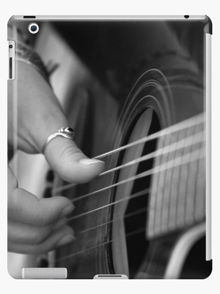 Guitar Strumming by Patience Miller