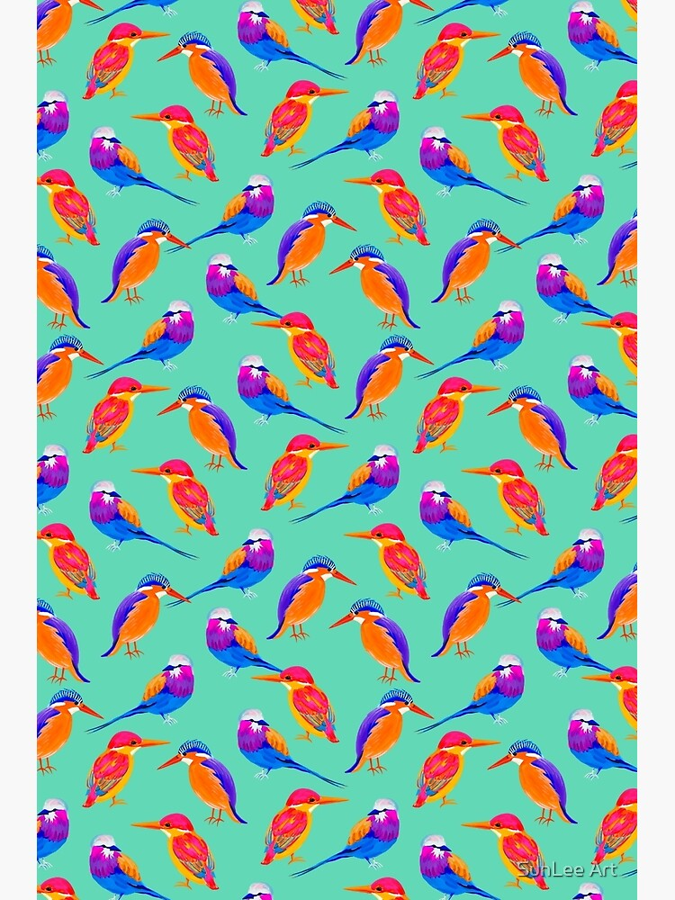 Colorful Birds by sunleeart