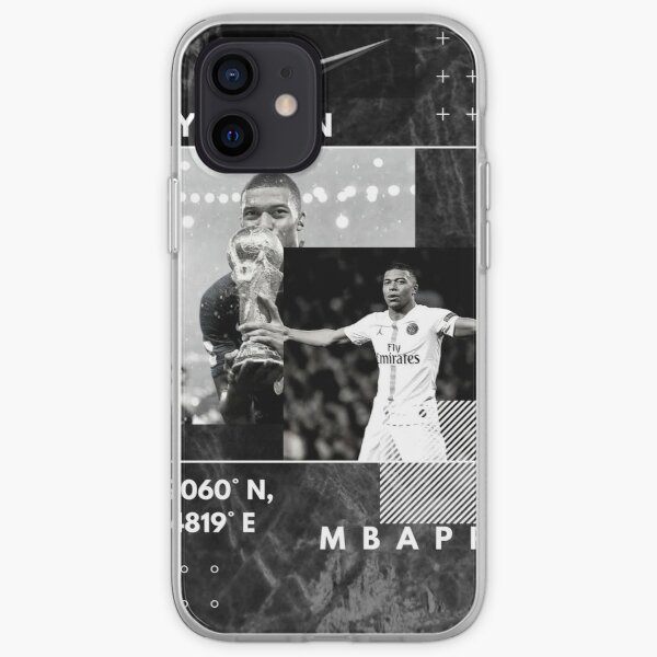 Mbappe Design incroyable Coque souple iPhone