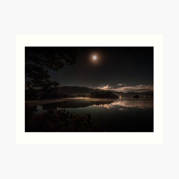Night from Friar's Crag Art Print
