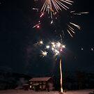 New Year in Valldalen by Algot Kristoffer Peterson