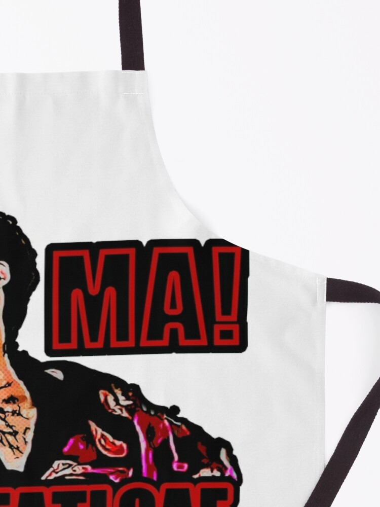 Alternate view of ma the meatloaf Apron