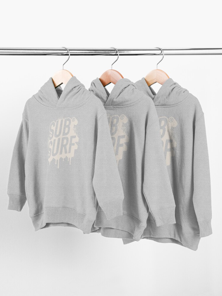Alternate view of Sub Surf Toddler Pullover Hoodie