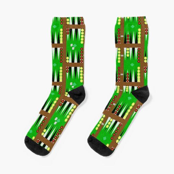 Backgammon Socks