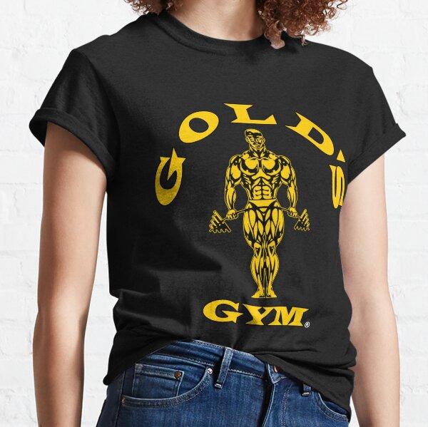 Gold's Gym Logo Black Classic T-Shirt