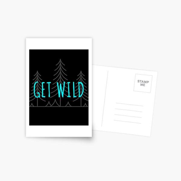 Get Wild Postcard