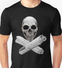 Skull & Newspapers T-Shirt
