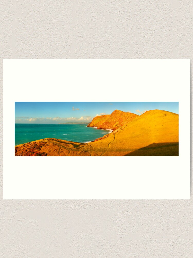Alternate view of Second Valley, Fleurieu Peninsula, South Australia Art Print
