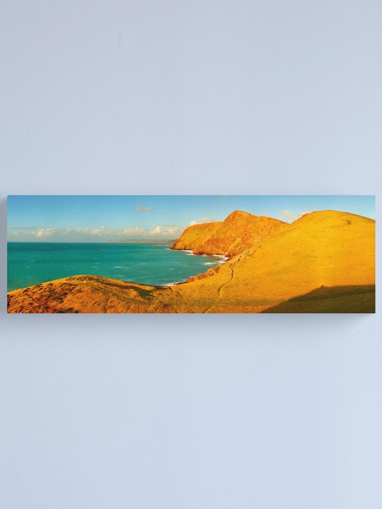 Alternate view of Second Valley, Fleurieu Peninsula, South Australia Canvas Print
