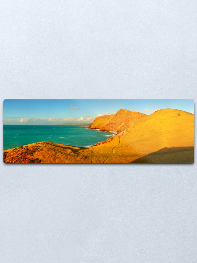 Alternate view of Second Valley, Fleurieu Peninsula, South Australia Metal Print