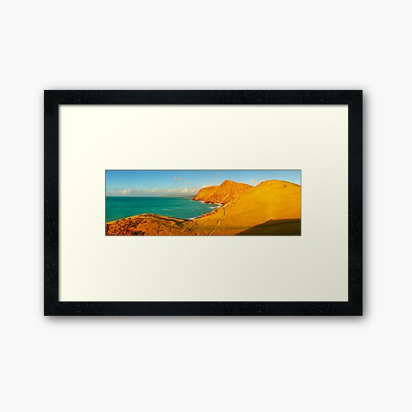 Second Valley, Fleurieu Peninsula, South Australia Framed Art Print