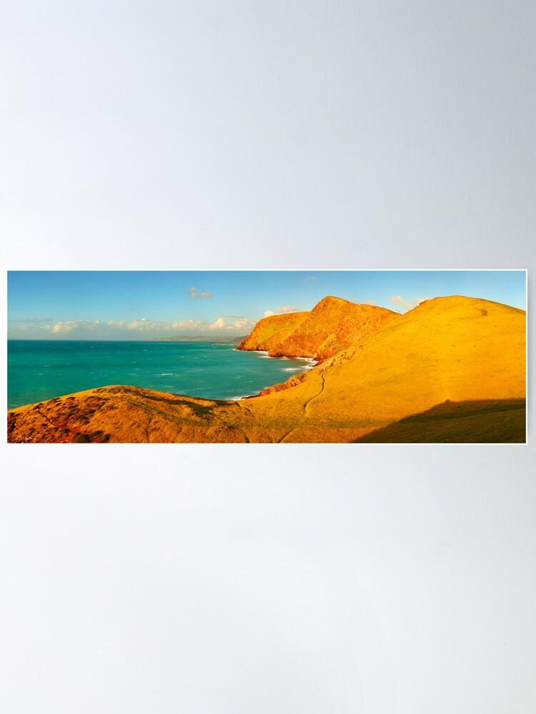 Alternate view of Second Valley, Fleurieu Peninsula, South Australia Poster