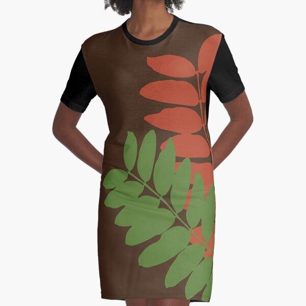 Dos hojas de flamboyant #2 Vestido camiseta