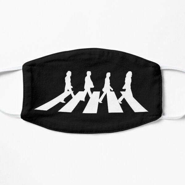 Minimalistic Abbey Road Flat Mask