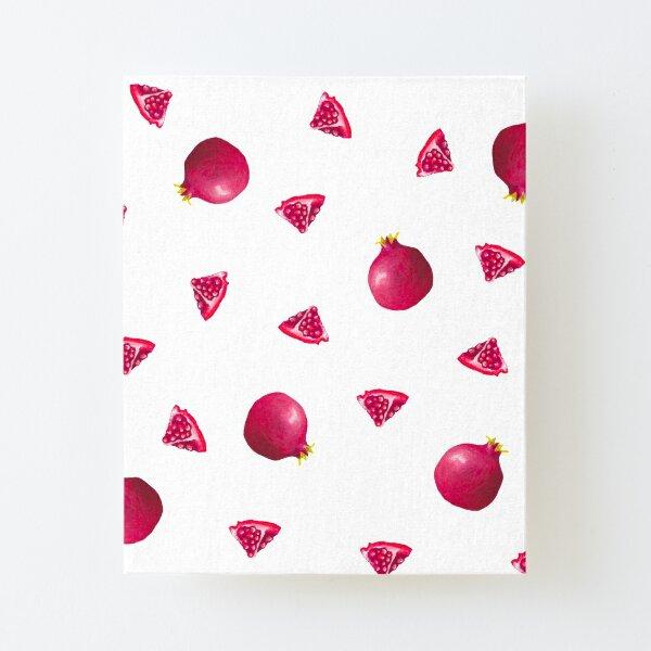 Pomegranate Print Canvas Mounted Print