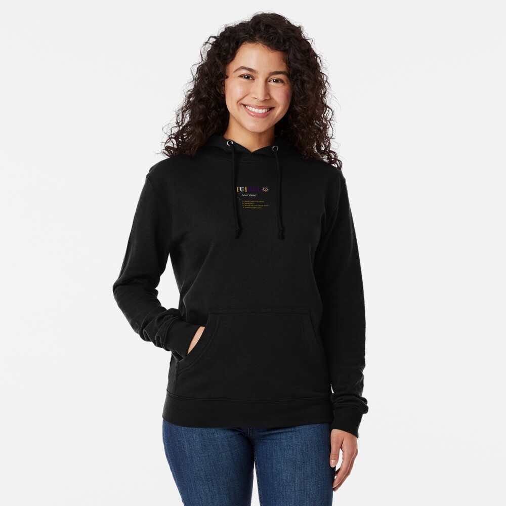 YuhGlo Maxims Lightweight Hoodie