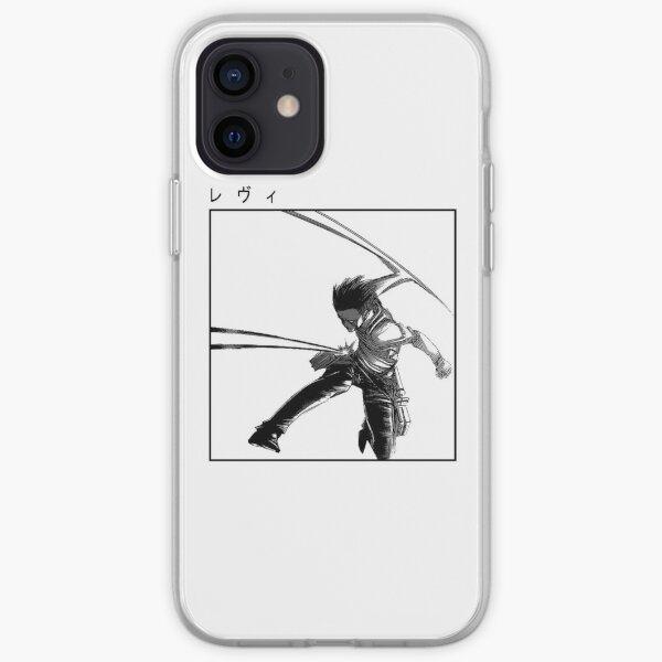 Levi Attack on Titan Classic Design iPhone Soft Case