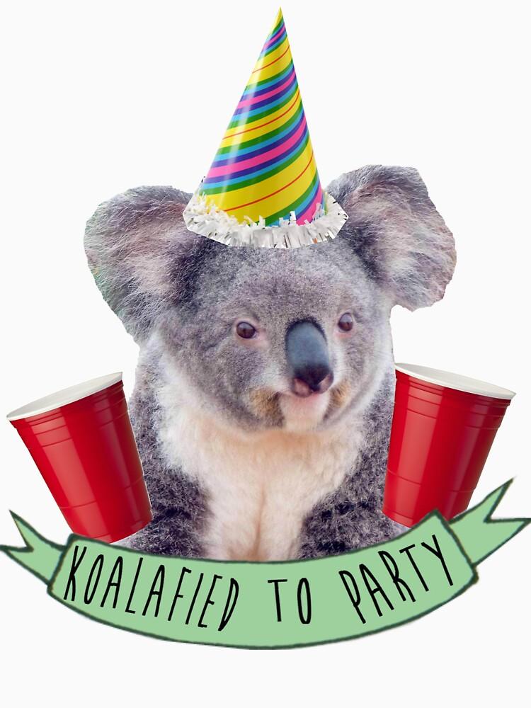 Koala-fied To Party | Unisex T-Shirt