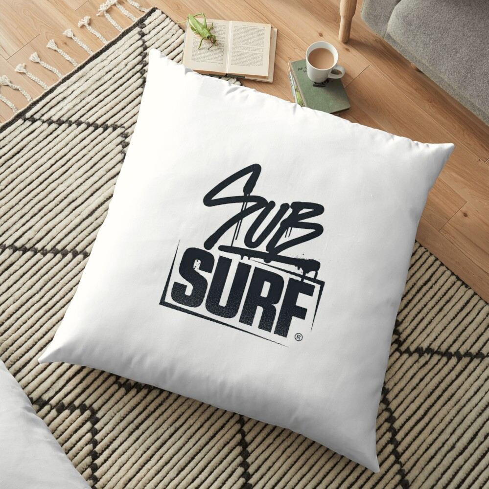 Sub Surf Logo - Sub way Surfers Floor Pillow