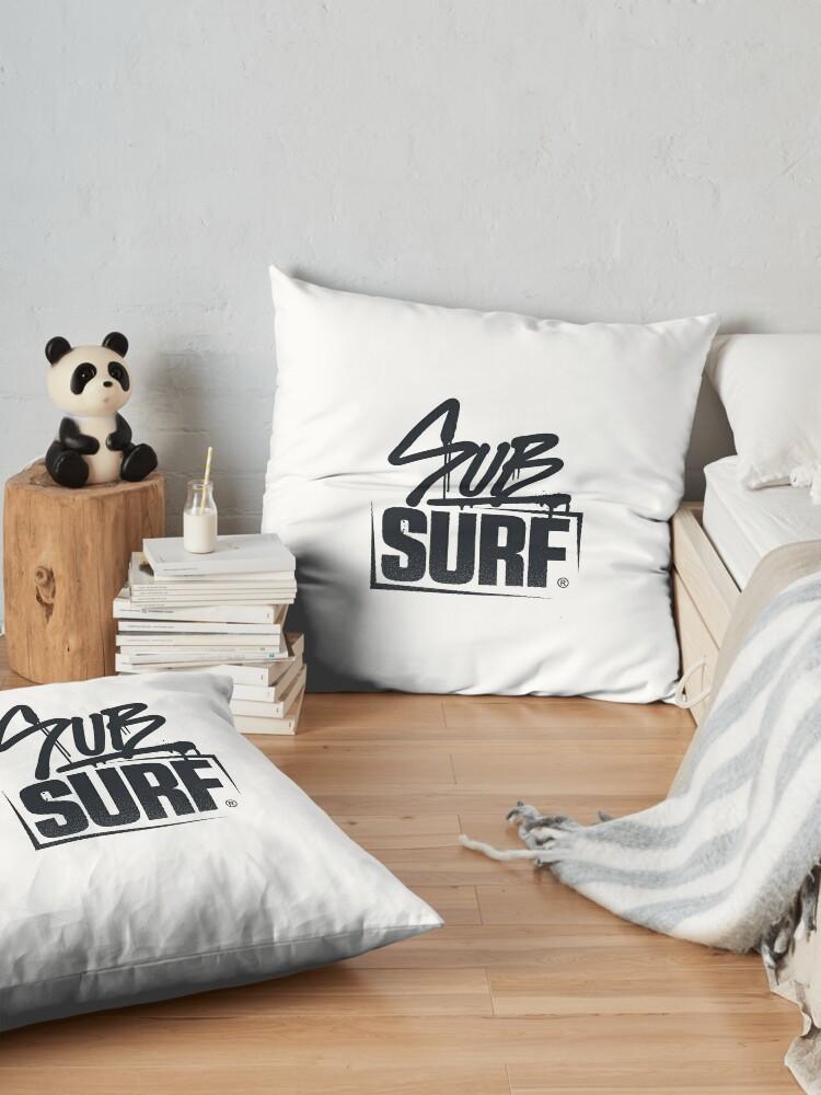 Alternate view of Sub Surf Logo - Sub way Surfers Floor Pillow