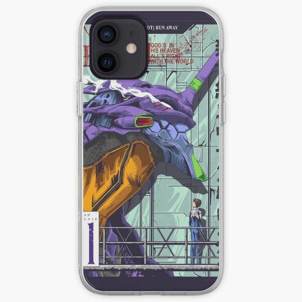 Shinji Ikari - Evangelion Coque souple iPhone