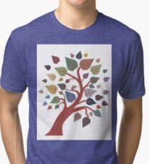 Autumn Tree Tri-blend T-Shirt