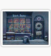Black Books Christmas Sticker