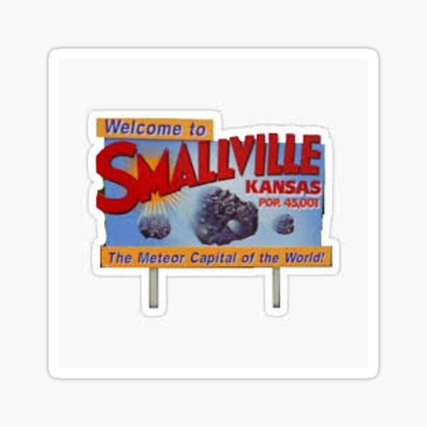 Bienvenue à Smallville Sign Sticker Sticker