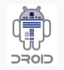 (An)Droid Photographic Print