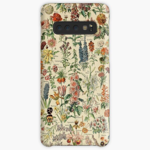 Vintage Flower Drawing Samsung Galaxy Snap Case