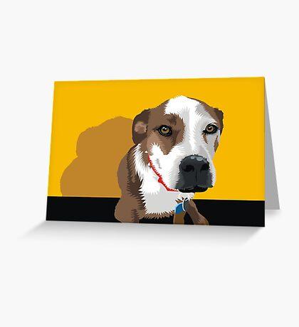 Polly the Wonder Dog Greeting Card