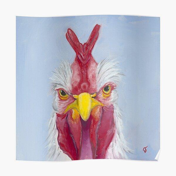 Crazy Covid Chick Poster