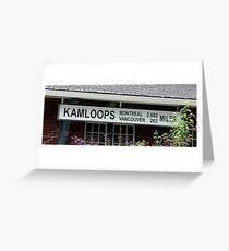 Kamloops Greeting Card