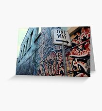 Kamloops Alley Greeting Card