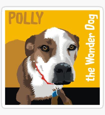 Polly the Wonder Dog Sticker
