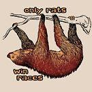 sloth by bristlybits