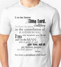 Doctor Ten's Speech T-Shirt