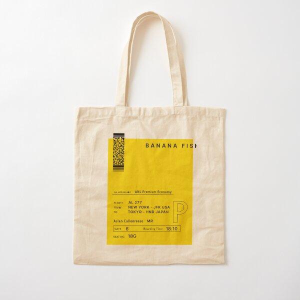 Banana Fish Cotton Tote Bag