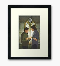 I Made You A Promise Framed Print