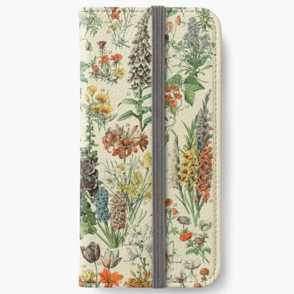 Vintage flowers iPhone Wallet