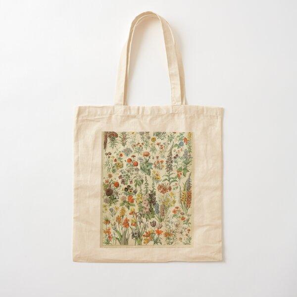 Vintage flowers Cotton Tote Bag