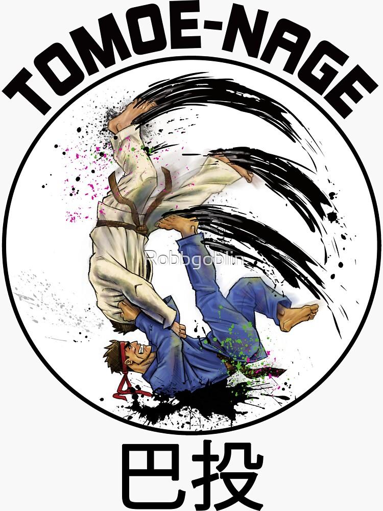 JUDO Tomoe-Nage by Robbgoblin