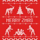 Zombie Christmas Sweater by bungeecow