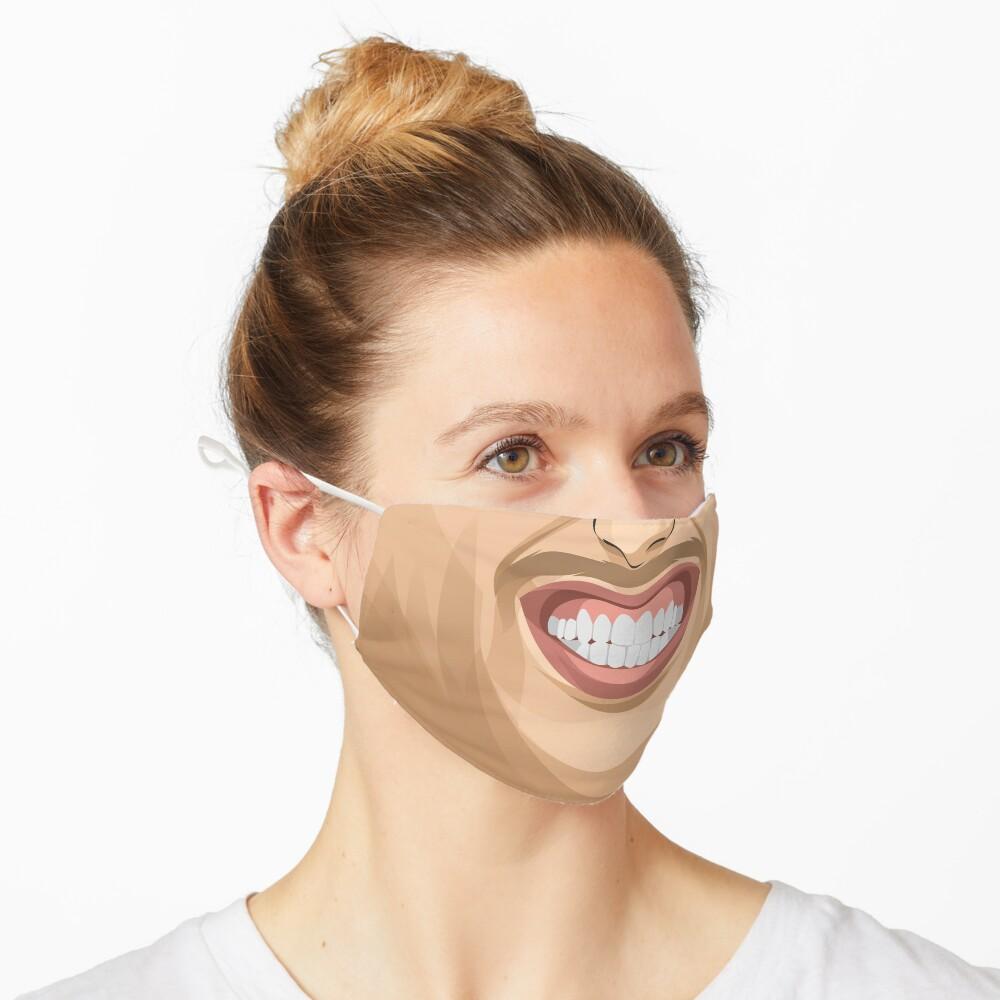 Masque «Masque de sourire gagnant»
